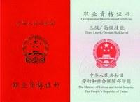 國家職業資格三級(高級)
